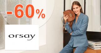 Zľavy až -60% na úzke skinny nohavice na Orsay.sk
