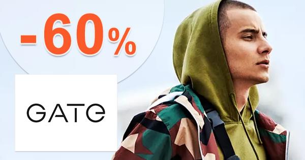 Výpredaj pre mužov až -60% zľavy na GATE.shop