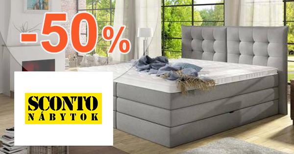 Výpredaj na postele až -50% zľavy na Sconto.sk