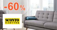 Výpredaj na sedacie súpravy až -60% na Sconto.sk