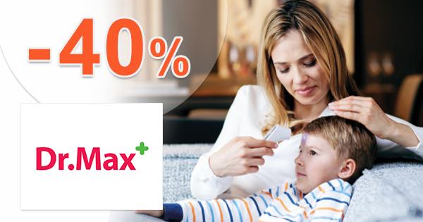Výpredaj na sortiment pre deti až -40% na DrMax.sk