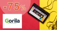 Výpredaj najlepších CD až -75% na Gorila.sk
