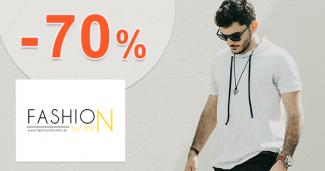 Pánske oblečenie až -70% na FashionForMen.sk