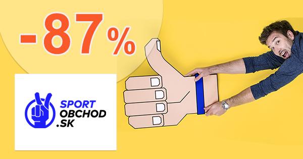 Výpredaj oblečenia až -87% na SportObchod.sk
