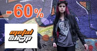 Výpredaj obuvi až -60% na MetalShop.sk