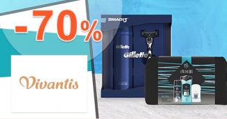 Výpredaj pánskej kozmetiky až -70% na Vivantis.sk