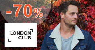 Výpredaj pánskej módy až -70% na LondonClub.sk