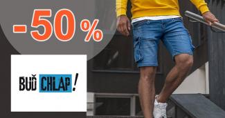 Výpredaj pánskych kraťasov až -50% na BudChlap.sk