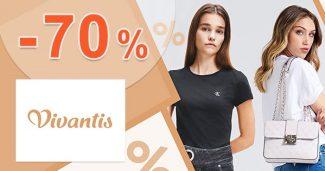 Výpredaj prémiových značiek až -70% na Vivantis.sk