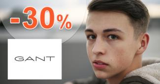 Sezónny výpredaj pre chlapcov až -30% na GANT.sk