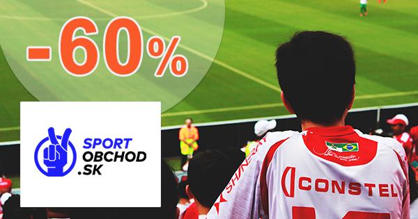 Výpredaj pre fanušíkov až -60% na SportObchod.sk