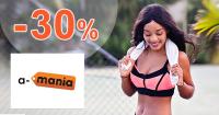 Výpredaj skladu -30% zľava na A-Mania.sk