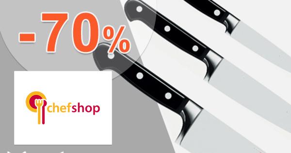 Prémiový týždeň až -70% zľavy na ChefShop.sk