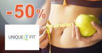Výpredaj so zľavami až do -50% na Uniquefit.sk