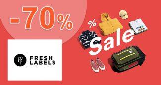 Výpredaj so zľavami až do -70% na FreshLabels.sk