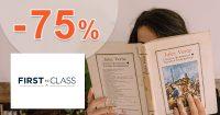 Výpredaj so zľavami až do -75% na FirstClass.cz