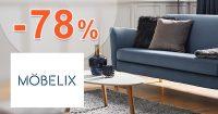 Výpredaj so zľavami až do -78% na Mobelix.sk