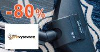 Výpredaj so zľavami až do -80% na PreVysavace.sk