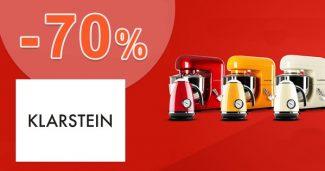 Výpredaj spotrebičov až -70% zľavy na Klarstein.sk