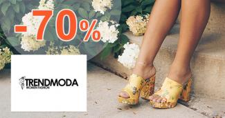 Výpredaj topánok so zľavami až -70% na Trendmoda.sk