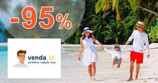 Výpredaj tovaru so zľavami až do -95% na Venda.sk