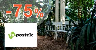 Výpredaj záhradného nábytku až -75% na inPostele.sk