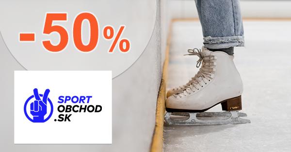 Výpredaj zimných korčulí až -50% na SportObchod.sk
