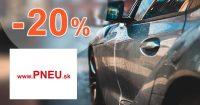 Výpredaj zimných pneu so zľavou -20% na Pneu.sk