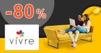 Výročie Vivre to sú až -80% zľavy na VivreHome.sk