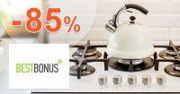 Všetko do kuchyne až -85% zľavy na BestBonus.sk
