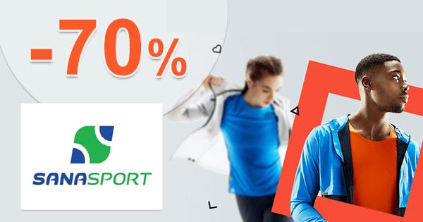 Všetko v akcii až -70% na SanaSport.sk