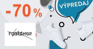 VÝPREDAJ → AŽ DO -70% ZĽAVY na FootShop.sk