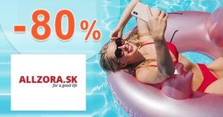 VÝPREDAJ AŽ DO -80% ZĽAVY na ALLZORA.sk