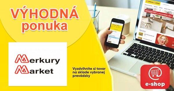 VÝPREDAJ → PLNÝ ZLIAV na MerkuryMarket.sk