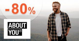 VÝPREDAJ PRE MUŽOV až do -80% na AboutYou.sk