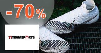 VÝPREDAJ až do -70% zľavy na 11TeamSports.sk