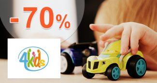 VÝPREDAJ na hračky až -70% ZĽAVY na 4kids.sk
