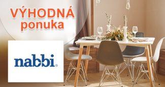 VÝPREDAJ na vybraný sortiment na Nabbi.sk