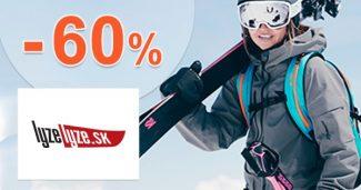 VÝPREDAJ so zľavami až do -60% na LyzeLyze.sk