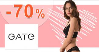Valentínske zľavy na bielizeň až -70% na GATE.shop