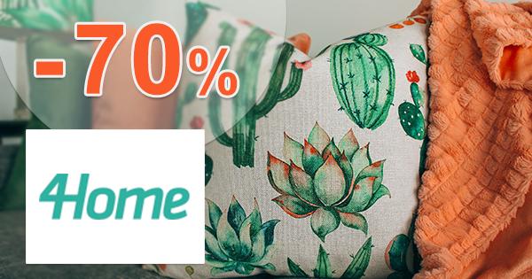 Vianočný textil až -70% zľavy a akcie na 4Home.sk