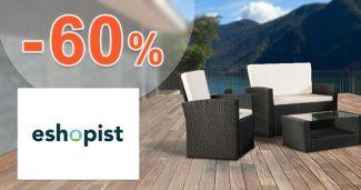Výpredaj až -60% zľavy a akcie na Eshopist.sk