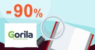 Veľké knižné upratovanie až -90% zľavy na Gorila.sk