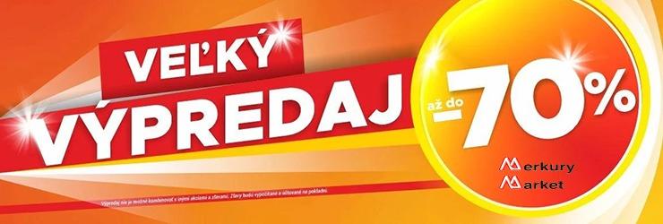 Veľký výpredaj na MerkuryMarket.sk