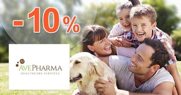 Vernostná extra zľava až do -10% na AvePharma.eu
