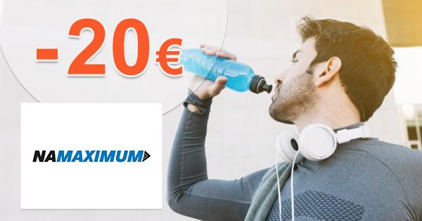 Vernostná zľava až do -20€ na NaMaximum.sk