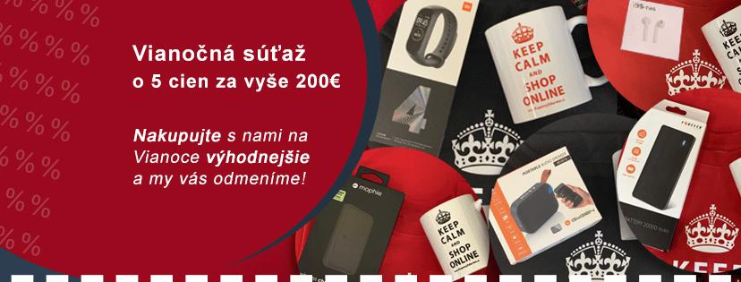 Vianočná súťaž o 5 cien za vyše 200€ na KuponyZdarma.sk