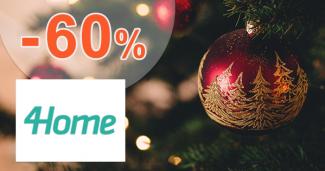 Vianočné dekorácie až -60% zľavy na 4Home.sk
