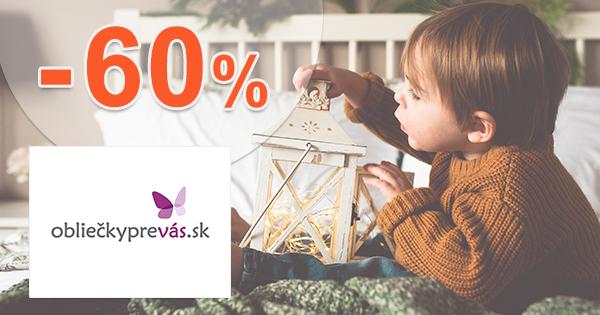 Vianočné obliečky až -60% na OblieckyPreVas.sk