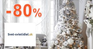 Vianočné osvetlenie až -80% na Svet-svietidiel.sk